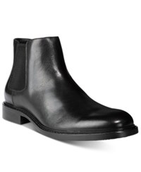 Kenneth Cole New York Men's Grand Scale Chelsea Boots Men's Shoes Black