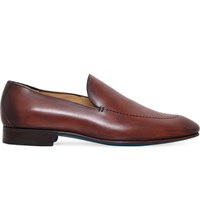 Sutor Mantellassi Lieto Lazer Leather Loafer Mid Brown