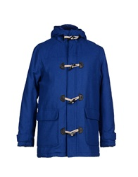 Solid Jackets Blue