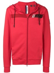 Rossignol Hero Logo Zipped Hoodie Red