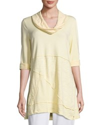 Neon Buddha Neighborhood Jersey Tunic Gray