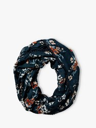 Fat Face Floral Painterly Snood Teal