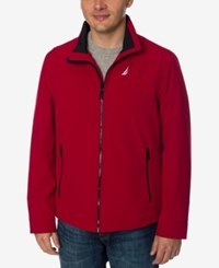 Nautica Men's Big And Tall Stretch Golf Jacket Red