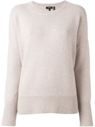 Theory Loose Fit Pullover Nude Neutrals