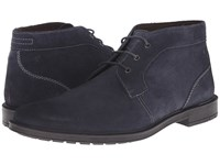 Stacy Adams Dabney Navy Suede Men's Boots Blue