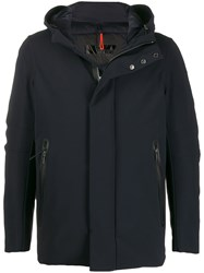 Rrd Thermo Hooded Padded Parka Blue