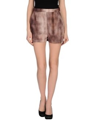 Elisabetta Franchi Shorts Brown