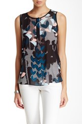 Laundry By Shelli Segal Printed Tank Multi