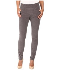 Jag Jeans Nora Pull On Skinny 18 Wale Corduroy Smokey Grey Women's Casual Pants Gray