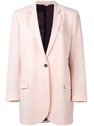 Paul Smith Ps By Oversized Two Button Blazer Pink Purple