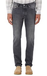 Officine Generale Men's Slim Fit Jeans Black
