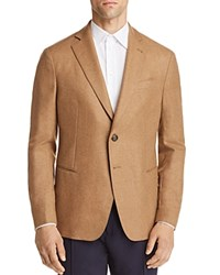 Emporio Armani Wool Cashmere Regular Fit Sport Coat Brown