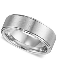 Triton Men's Cobalt Ring Comfort Fit Wedding Band