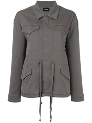Hudson 'Multi Pocket Sienna' Jacket Green
