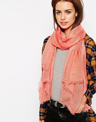 Pepe Jeans Simple Scarf Coral