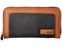 Roxy Sunny Wallet True Black Wallet Handbags