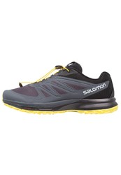 Salomon Sense Pro 2 Trail Running Shoes Ombre Blue Black Blazing Yellow