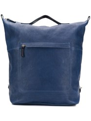 Ally Capellino Large Hoy Backpack Blue