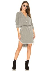 Nsf Esther Shirt Dress Gray