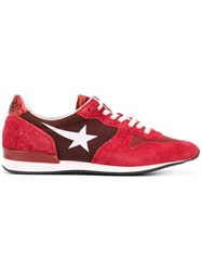 Haus By Ggdb 'Hally' Panelled Sneakers Red