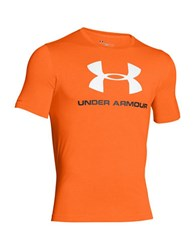 Under Armour Charged Cotton Sportstyle Logo T Shirt Orange