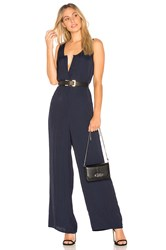 American Vintage Stayway Jumpsuit Navy