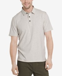 G.H. Bass And Co. Men's Desert Mountain Polo Oyster Grey Heather