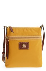 Frye Ivy Nylon Crossbody Bag Yellow