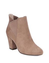 Bcbgeneration Dolan Microsuede Booties Taupe
