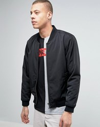 Dr. Denim Dr Mason Black Bomber Jacket Black