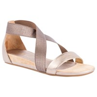 Unisa Alena Cross Strap Sandals Silver