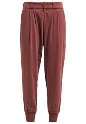 Marc O'polo Trousers Deep Mahogany Berry