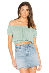 Wyldr Wildfire Off The Shoulder Top Mint