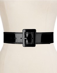 Calvin Klein Patent Leather Belt Black