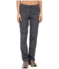 Mountain Hardwear Mirada Convertible Pant Graphite Women's Casual Pants Gray
