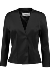 Chalayan Satin Jacket Black