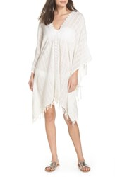 Muche Et Muchette Serendipity Cover Up Tunic White Silver