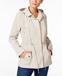 Charter Club Petite Anorak Rain Jacket Only At Macy's Sedona Dust