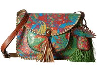 Patricia Nash Beaumont Flap Crossbody Tropicana Summer Festival Handbags Multi