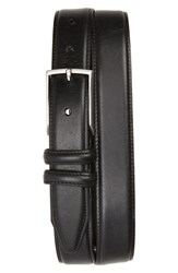 Nordstrom Big And Tall Men's Shop Carter Leather Dress Belt Black