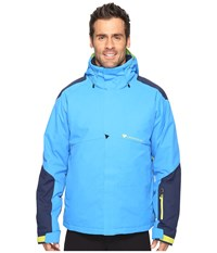 Obermeyer Foundation Jacket Stellar Blue Men's Coat