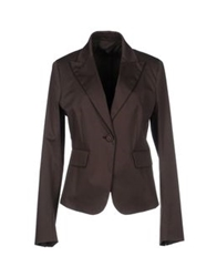Sportmax Blazers Dark Brown