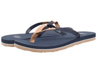 Ugg Magnolia Navy Leather Women's Sandals Blue