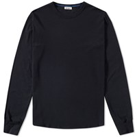Schiesser Karl Heinz Long Sleeve Crew Tee Black