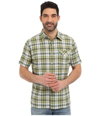 Kuhl Stallion Skuba Lime Men's Short Sleeve Button Up Green
