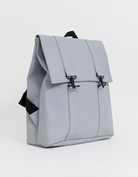 Rains Msn Large Backpack Grey