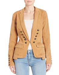 Free People Double Breasted Button Front Blazer