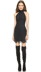 For Love And Lemons Take A Holiday Mini Dress Black
