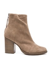 Rag And Bone Suede Ashby Booties In Gray
