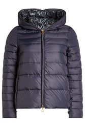 Duvetica Down Jacket With Hood Blue
